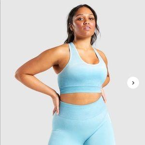 🎉HP🎉Gymshark adapt ombre misty blue sports bra